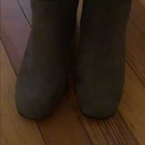 Christian Siriano Shoes - Gray Boots - New!